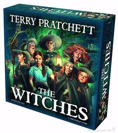 Juego de Tablero - The Witches: A Discworld Board Game - INGLES