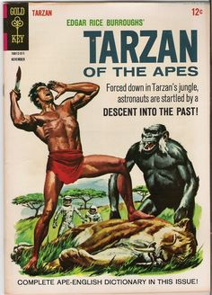 """Time for the Ape of the Day!  Fun fact: A perusal of the Ape-English Dictionary reveals that the Mangani have fifty-seven different terms for """"coconut"""" but only eight for """"fountain pen."""""""