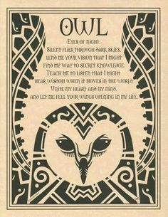 Tarot Mom: Owl & Raven; Common Totem Birds for Witches & Pagans