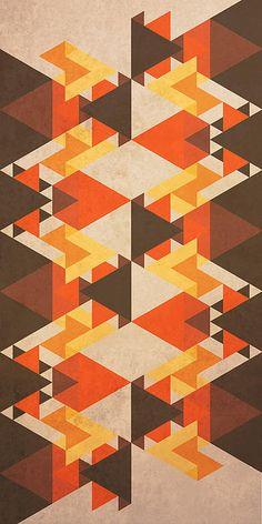 Orange Maze by VessDSign