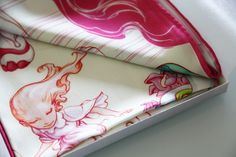 New James Jean Silk Scarf. Nice illustrations, as well.