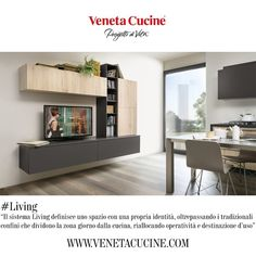Il Gruppo Veneta Cucine è la più grande piattaforma italiana di mobili per cucina, con più di 40 anni di storia. Quest'oggi, vogliamo parlarvi del sistema Living, che definisce uno spazio con una propria identità, oltrepassando i tradizionali confini che dividono la zona giorno dalla cucina, riallocando operatività e destinazione d'uso. Segui i consigli delle nostre esperte!