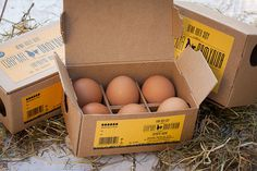 Egg Packaging by Maria Romanidou, via Behance