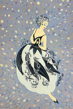 Tuxedo - Erté (Romain De Tirtoff) (1892-1990)