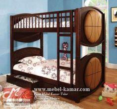Tempat Tidur Anak Jati ( RA01 ) | mebel-kamar.com