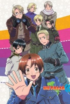 hetalia, countries as people in 5 min comedy packed episodes
