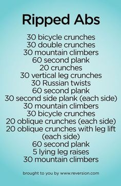 23 Intense Ab Workouts That Will Help You Shed Belly Fat Quickly!