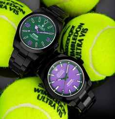 I know it's pretentious but...Fancy - Rolex Wimbledon by Bamford Watch Department