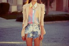 YOU'RE SO CANDY..... wear acid washed jeans with a tie-dye shirt and do office ready bo-ho. Blazer optional? x