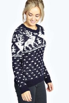 Ruby Reindeer Christmas Jumper alternative image