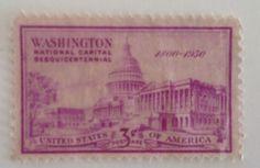 Washington National Capital Suesquicentenial 1800-1930
