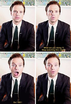 """Go...go"" watch Captain America: Civil War Sebastian ⭐ Stan"