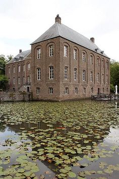 Arcen Castle in the Netherlands was built by the dukes of Gelre and dates back to the 17th century.  It has been owned by several families over the 400 year span.  The castle suffered heavy damange during WWII when it was used as a shelter by the soldiers.