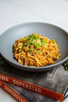 This Shan Noodle recipe from the new Burma Superstar: Addictive Recipes from the Crossroads of Southeast Asia cookbook co-authored by our good friend Kate Leahy is one of our favorite recipes in the book. This is a must try–and a recipe that is likely to Fettuccine Recipes, Creamy Pasta Recipes, Vegetarian Pasta Recipes, Pasta Sauce Recipes, Chicken Pasta Recipes, Spaghetti Recipes, Noodle Recipes, Cookbook Recipes, Wine Recipes
