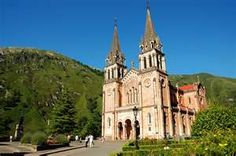 govadonga cathedral, asturias Spain