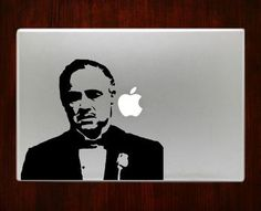 Godfather Macbook Pro / Air 13 Decal Stickers