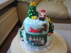 kersttaartje voor schoolfeestje