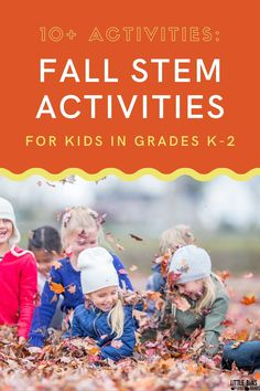 Looking for a great way to get more STEM activities in for your elementary aged kids? Check out these fall STEM activities for kids in grades K-2! Help children become interested in science topics with fun hands on learning that is themed for the fall season. A great resource for parents that are doing distance learning at home, the elementary classroom, and for day care centers!