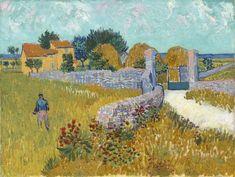Vincent Van Gogh Vintage Farmhouse in Provence Ceramic Tile Van Gogh Pinturas, Vincent Van Gogh, Monet, Van Gogh Arte, Städel Museum, Works Of Mercy, Art Games For Kids, Van Gogh Paintings, National Gallery Of Art