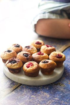 These Mini Blender Muffins are a great little snack or breakfast for babies and kids. Great for baby led weaning or for popping into lunch boxes.