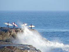 Queued up at Steamer Lane, Santa Cruz, CA Great Places, Places To Visit, Santa Cruz California, Walk On Water, Beach Town, Surfers, Going Home, Steamer, Trips