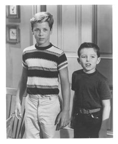 Wally and The 'Beav' were so little -- Oh yeah, we were too!