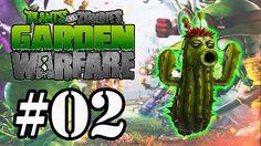 Plants vs Zombies:Garden Warfare #02 - Modo Horda - Cactus