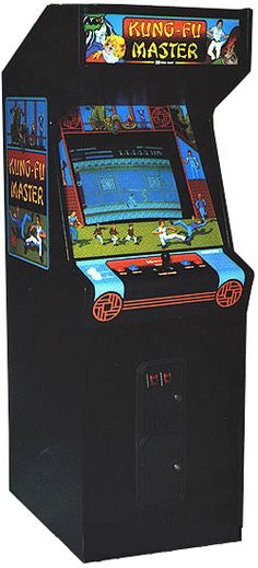 1984: Kung-Fu Master by Irem. One if not THE first beat em up of videogame history. Clic picture for gameplay video.