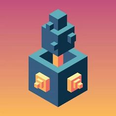 Skyward by Ketchapp Isometric Art, Isometric Design, App Icon Design, Game Design, Game Creator, Pop Up Ads, App Support, Icon Collection, Best Phone