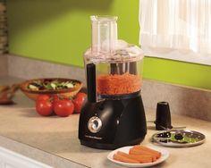 Hamilton Beach 10-Cup Food Processor, ChefPrep with 525-Watts (70670) by Hamilton Beach Price: 42.99