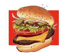 I luv u more than cheeseburgers