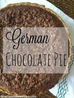 German Chocolate Pecan Pie Recipe - my mom has been making this pie for over 40 years. It is simply amazing yet so easy to make. #easyrecipes #dessert (scheduled via http://www.tailwindapp.com?utm_source=pinterest&utm_medium=twpin&utm_content=post20792820&utm_campaign=scheduler_attribution)