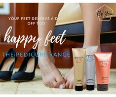 put your FEET FIRST for once! our epoch pedicure range is well worth it!🏆🥇👠👠👡👡👢👢 🔥fire walker- Soothes and rejuvenates feet after a long day. ❄️ice dancer- soothing aches and pains, stimulate tired feet. 🎉sole solution - smooths & cures dry feet & cracks heels. Epoch Sole Solution, Spa Packages, Tired Feet, Beauty Magazine, Hand Lotion, Home Spa, Nu Skin, Pedicure, Whitening