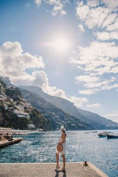 The Best Positano Instagram Shots | 12 Beautiful Shots You Can't Miss: The Marina.  Take the best photos from your Amalfi Coast Italy vacation with these 12 Positano Instagram Spots. These beautiful locations boast the most stunning views, and picturesque scenery! Don't miss these stunning spots! Positano Photography. 2018 Summer Vacation. Dreamy Vacation Photography. DanaBerez Travel, Dana Berez #italy #instagram #instagramspots #StunningPhotography