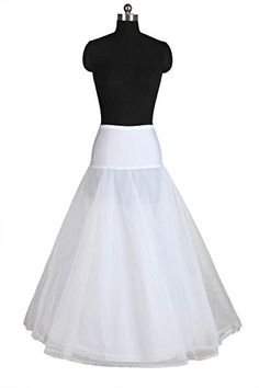 Dressever Women's A-line Bridal Petticoats with Lace Edge One Size *** Click image for more details.