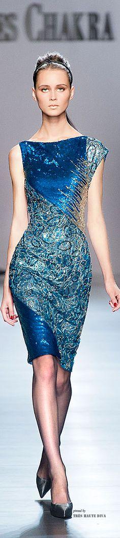 Farb-und Stilberatung mit www.farben-reich.com - Georges Chakra Couture FW 2014 -15      jaglady