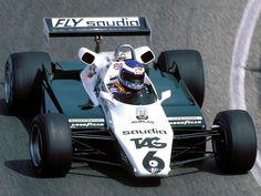 "Keijo Erik ""Keke"" Rosberg (FIN) (TAG Williams Team), Williams FW08 - Ford-Cosworth DFV 3.0 V8 1982"