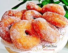 Diy Food, Doughnuts, Peach, Candy, Food And Drink, Cooking, Sweet, Desserts, Martha Stewart