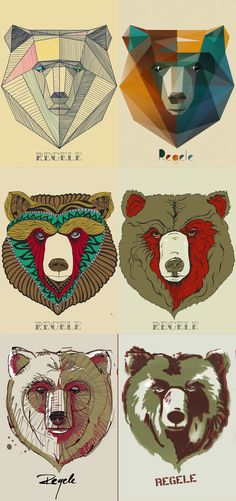 the bears on Behance
