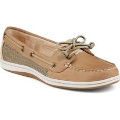 Sperry's classic Angelfish boat shoe just got on-trend and sexy. Lighter, sleeker, and more refined, the Firefish is rugged enough for adventure, yet feminine enough for a night on the town. - Leather