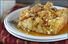 Make-Ahead Pumpkin French Toast Casserole by veryculinary #French_Toast_Casserole #Pumpkin