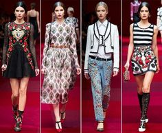 Dolce & Gabbana Spring/Summer 2015 Collection - Milan Fashion Week