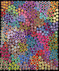 Aboriginal ART BY Sally Clark 75cm X 90cm | eBay