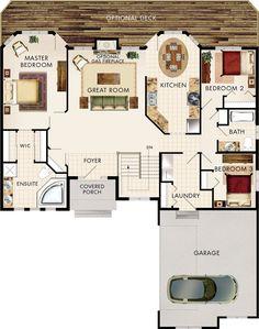 Amberwood Floor Plan