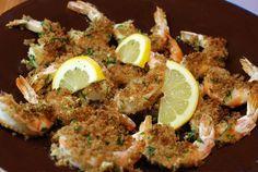 Crispy Roasted Shrimp with Garlic andLemon bycirclebkitchen #Shrimp #Garlic