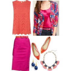 Tuesday by deneet on Polyvore featuring Oasis, J.Crew, Lauren Ralph Lauren and Talbots