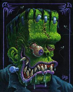Dave Burke Evil Pictures, Dark Pictures, Evil Pics, Cute Pictures, Halloween Cartoons, Cool Cartoons, Vintage Cartoon, Cartoon Art, Tatuagem New School