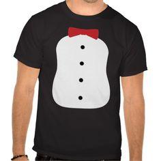 Tuxedo Penguin Costume T Shirts
