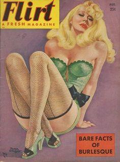 Flirt - A Fresh Magazine, August 1951