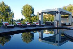 Backyard of luxury